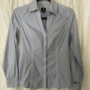 """Express """"The Essentials Shirt"""" button up blouse"""